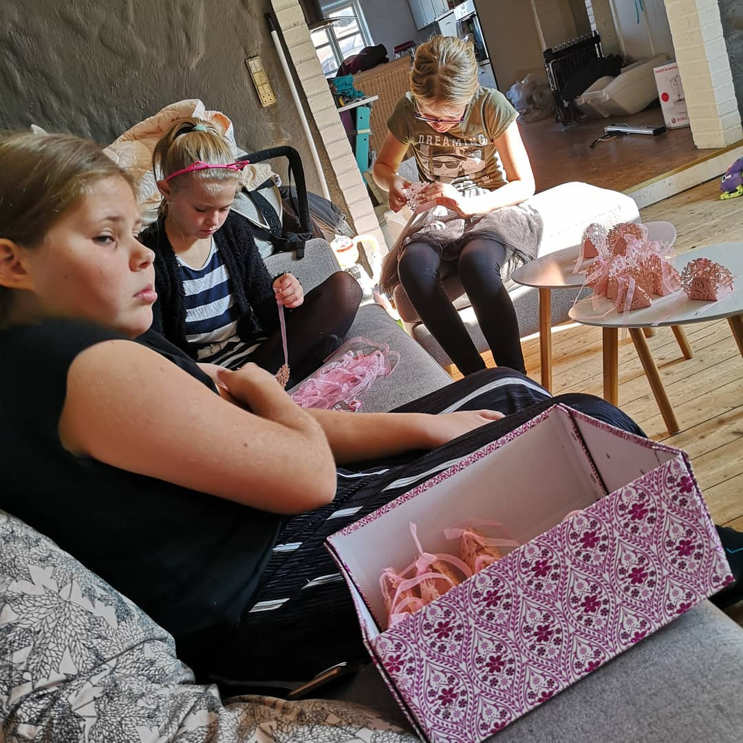 barnedåbs forberedelser